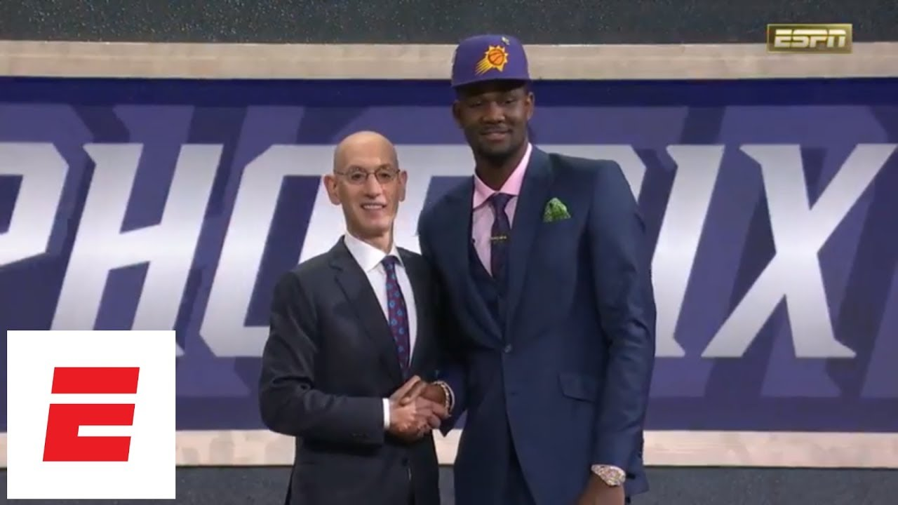Phoenix Suns select Deandre Ayton No. 1 overall in 2018 NBA draft [pick/analysis/interview] | ESPN
