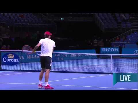 Holding Court Live 2014 Federer Wawrinka Cahill Newman