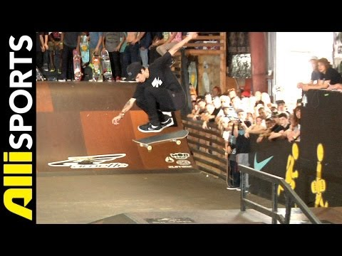 Tampa Pro 2013 Highlights, Luan Oliveira, Nyjah Huston, Chaz Ortiz, Alli Sports Best Of