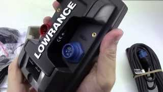 Lowrance Elite 4x HDI (Unboxing HD)