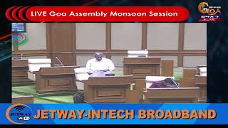 🔴LIVE: Goa Assembly Monsoon Session 2019 Day 2