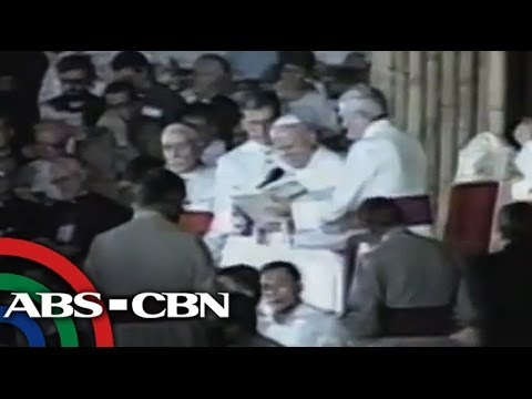 TV Patrol reports on World Youth Day 1995