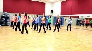 A Little Glitter & Gold - Line Dance (Dance & Teach in English & 中文)
