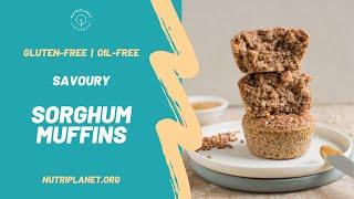 Savoury Sorghum Muffins [Vegan, Gluten-Free, Oil-Free, Soy-Free] #sorghummuffins