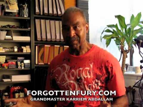 Grandmaster Karriem ABdAllah On Fred Hamilton And Joe Hayes