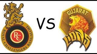 Ipl 2017 Royal Challengers Bangalore Vs Gujarat Lions Full Match Highlights (DBC17)