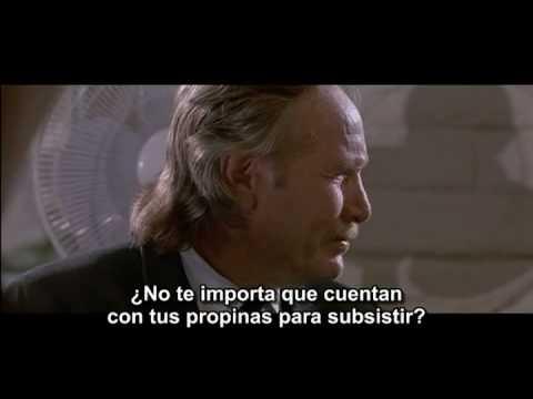 Reservoir Dogs Tip Scene (spanish subtitles) (para Pipe Serer)