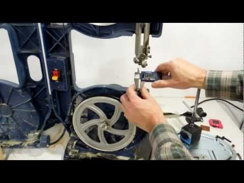 Cheap bandsaw tune-up
