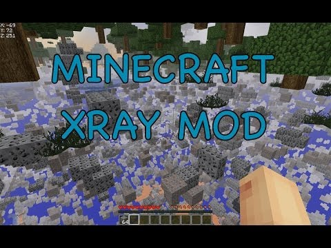 How to Install Xray Mod for Minecraft 1.7.10, 1.7.9, 1.7.2, 1.6.4