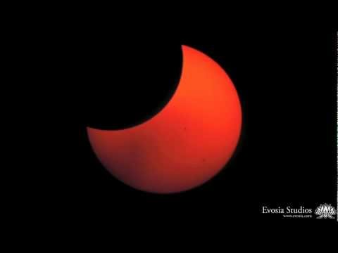 Ring of Fire - Extended: May 2012 Solar Eclipse Timelapse over White Pocket, AZ