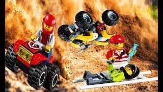 Lego City Racing quad bikes - Lego City Stop Motion