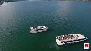 Aquathlon d'Aix les Bains 2017  -  traversée du lac du Bourget . Film officiel 2017