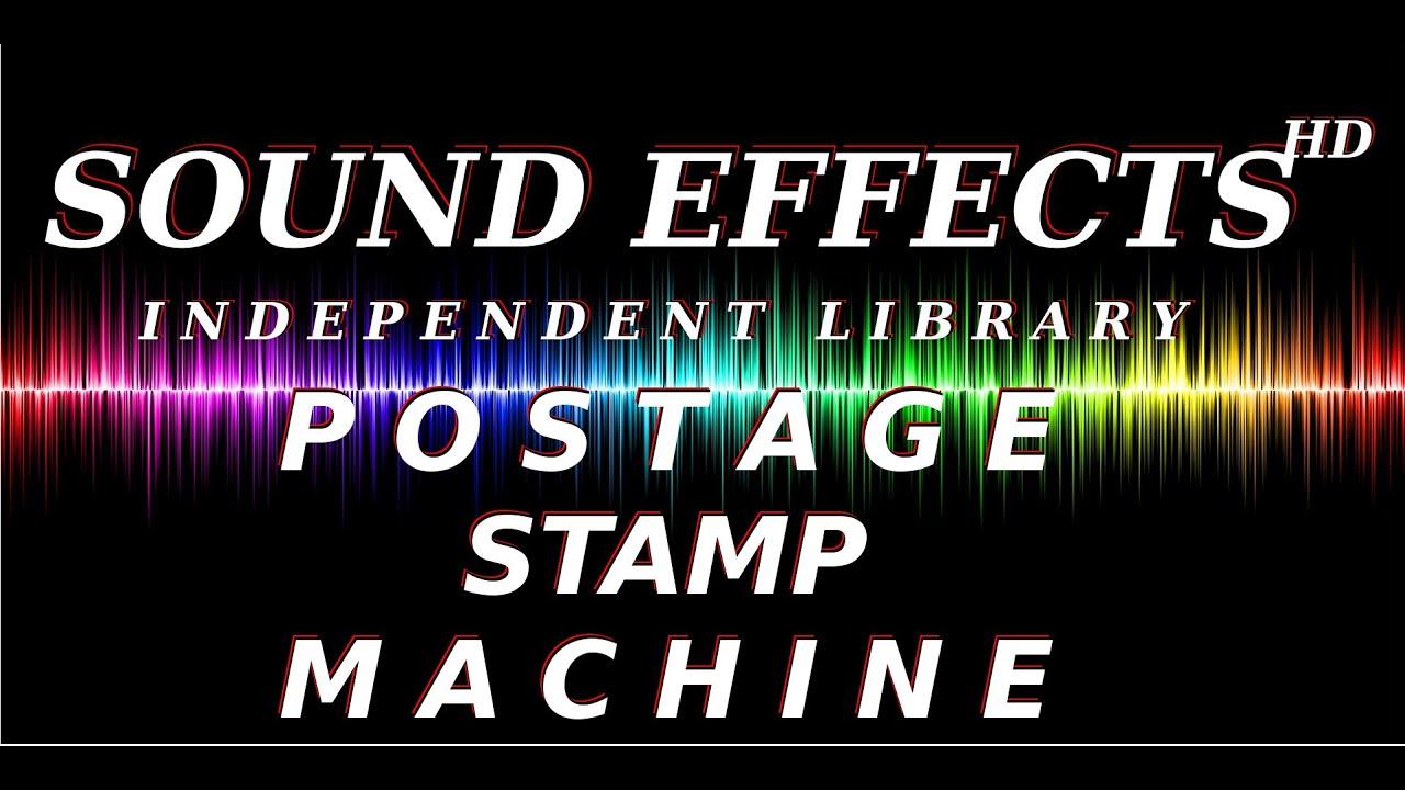 Sfx Sound Effect Postage Stamp Machine