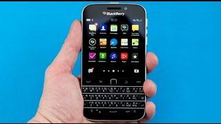 Видео обзор BlackBerry Classic