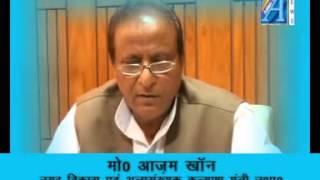 Mohd Azam Khan byte on BJP Report By Senior Reporter Mr Roomi Siddiqui  ASIAN TV NEWS
