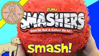 Unboxing Zuru Smashers - Smash The Ball & Collect 'Em All Piñata!