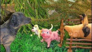 ПУТЕШЕСТВИЕ В НЕИЗВЕСТНОСТЬ!!! Непослушные детки.  Мультфильмы про животных для детей
