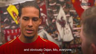 Melwood Tour with Virgil van Dijk | This Is Melwood