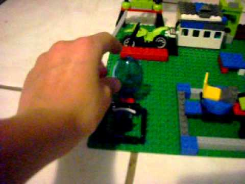 My home made lego lavatraz! set