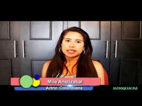 Actriz  Colombiana - Mile Aristizabal