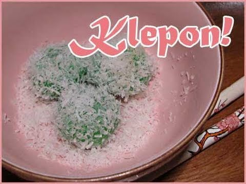 Klepon - Zoete Indonesische snack - video tutorial