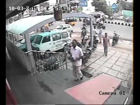 BIKE STOLEN OF  AMBULANCE  DRIVER  FROM HOSPITAL PARKING IN HYDERABAD