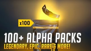 100+ ALPHA PACK OPENING in Rainbow Six Siege (Console) : Operation Burnt Horizon