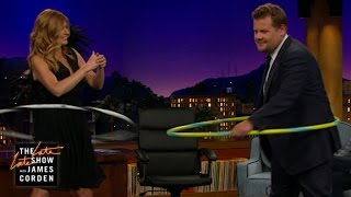 Hula Hooping with Connie Britton