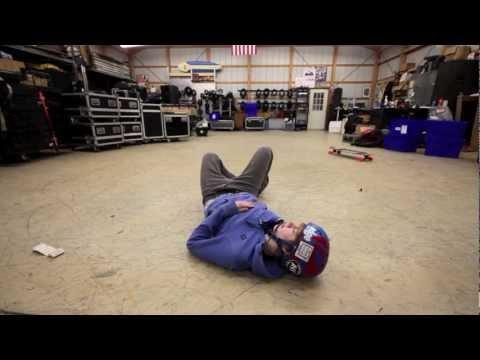 Apex 40 Longboarding: Warehouse Sesh