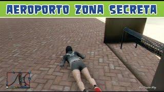 GTA 5 Online Airport Secret Zone 1.17 - Zona secreta no Aeroporto