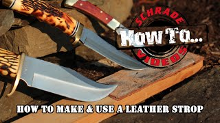Leather Stropping- The Final Step To A Razor Sharp Knife Blade