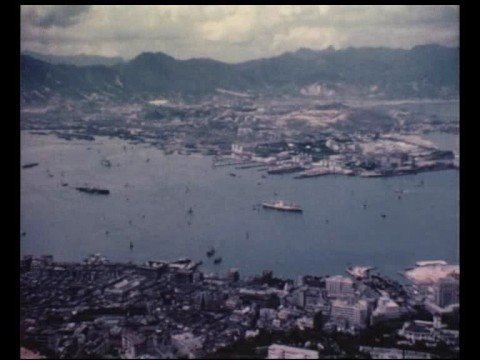 Old Hong Kong. To the Peak in 1962