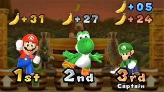 Mario Party 9 - Mario vs Luigi vs Yoshi - DK's Jungle Ruins