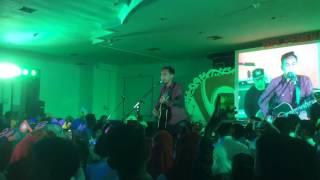 Saat Kau Tak Di Sini live at Swarna Dipa Palembang - Pongki Barata