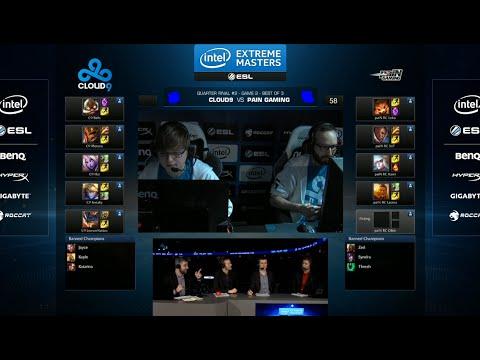 Cloud 9 vs paiN Gaming | Game 2 Quarter Finals IEM San Jose LOL 2014 | C9 vs PNG G2