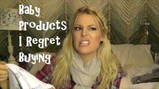 Baby Products I Regret Buying | Mommy Edition