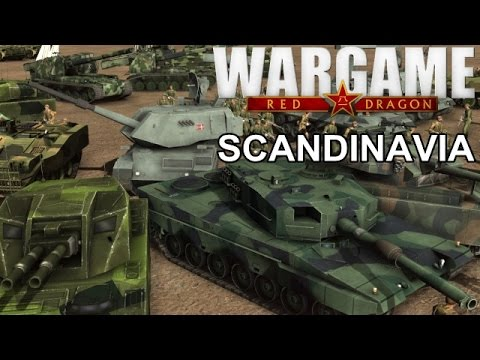 Wargame Red Dragon - New DLC 3 - Scandinavia Deck Building