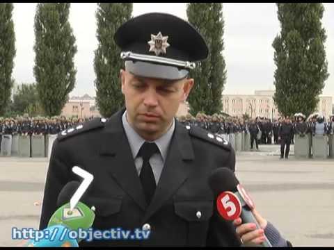В ХНУВД прошли учения будущих полицейских