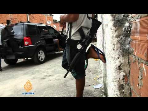 Brazil struggles to keep peace in favelas