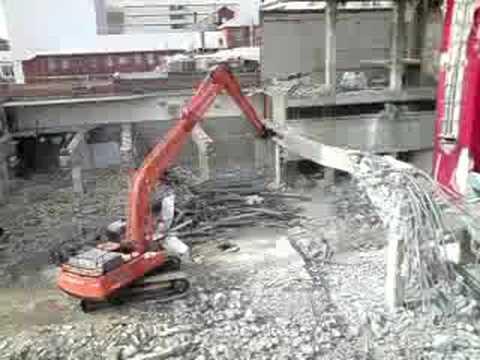 Cinema City Demolition (8 July 2008)