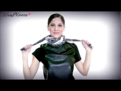 10 τρόποι για να δέσεις ένα μαντήλι!