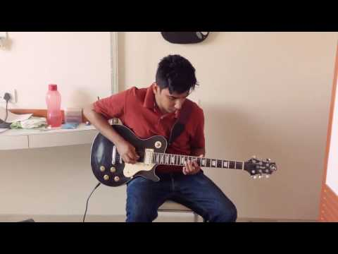 Atif Aslam - Aadat Electric Guitar Cover ( Instrumental )