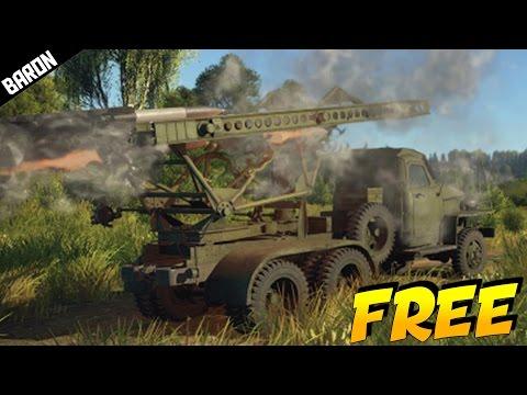 War Thunder's FREE New Katyusha Rocket Launcher (War Thunder Gameplay)