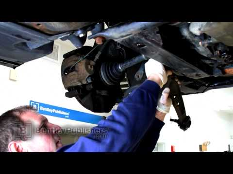 BMW 3 Series E46 Front Lower Control Arm. Replacing - DIY Repair