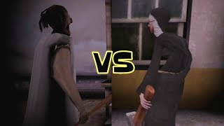 Granny Practice Mode vs Evil Nun Ghost Mode