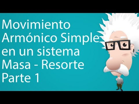 Movimiento Armónico Simple en un Sistema Masa - Resorte. Parte 1