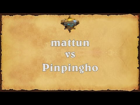 mattun vs Pinpingho - Asia-Pacific Winter Championship - Match 6