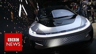CES 2017: Faraday Future shows 'Tesla beating' car - BBC News