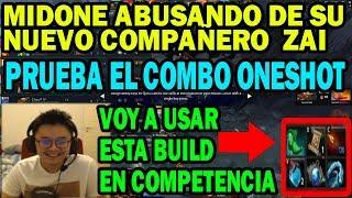 MidOne PRUEBA BUILD PARA LOS PRÓXIMOS TORNEOS CON LINA | SUBTITULOS | DOTA 2