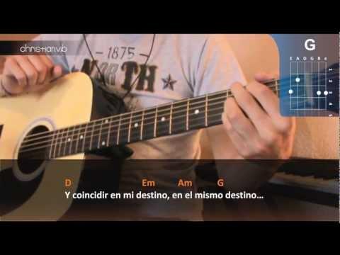 Como tocar Bendita tu Luz en Guitarra (HD) Tutorial